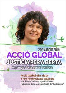 Acció Global dins de la II Fira Feminista de València @ Fira Feminista de València